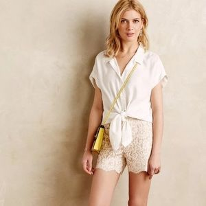 Adorable pair of lace shorts from Anthropologie!